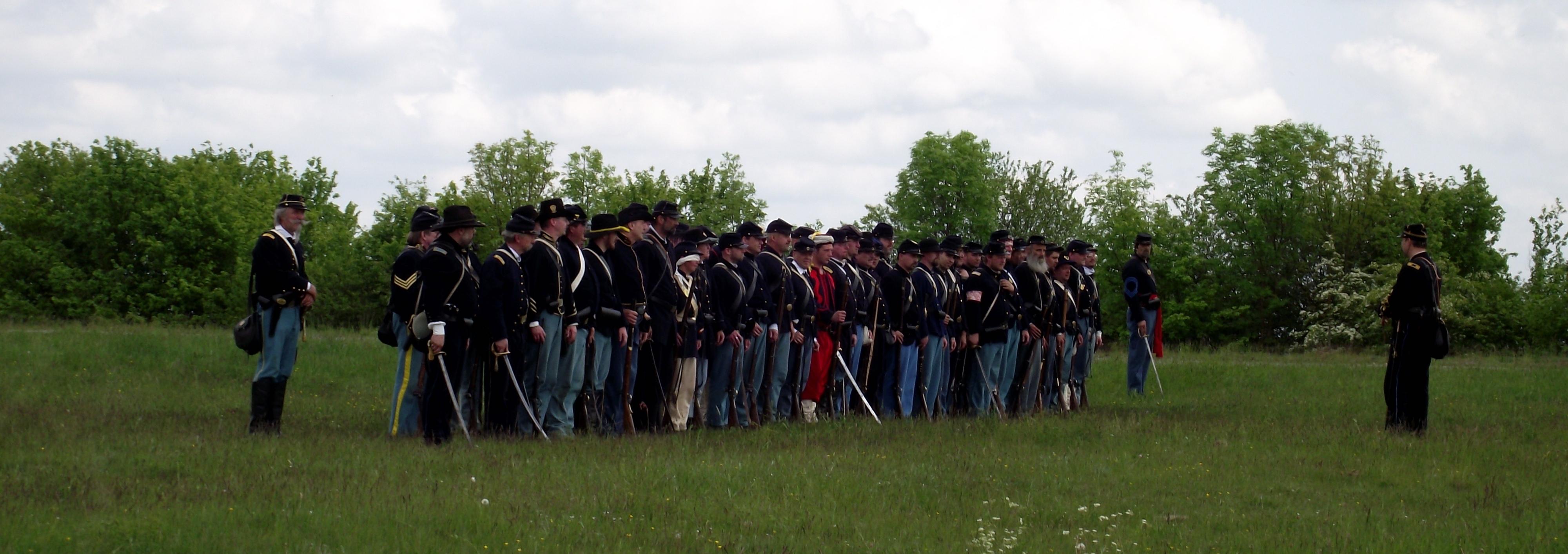 A Field Trip Back in Time: American Civil War Reenactment in