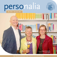 Download Magazin personalia 2/2014 - Personal-Journal der Uni Bamberg