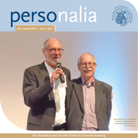Download Magazin personalia 1/2015 - Personal-Journal der Uni Bamberg