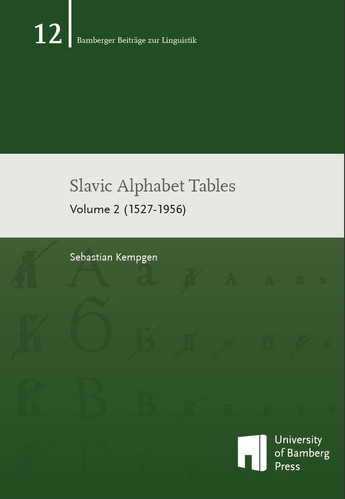 Slavic Alphabet Tables - Volume 2