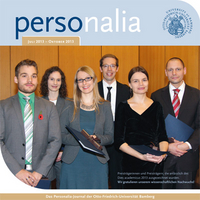 Download Magazin personalia 2/2013 - Personal-Journal der Uni Bamberg