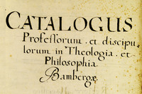 Catalogus Professorum, 1684-1774
