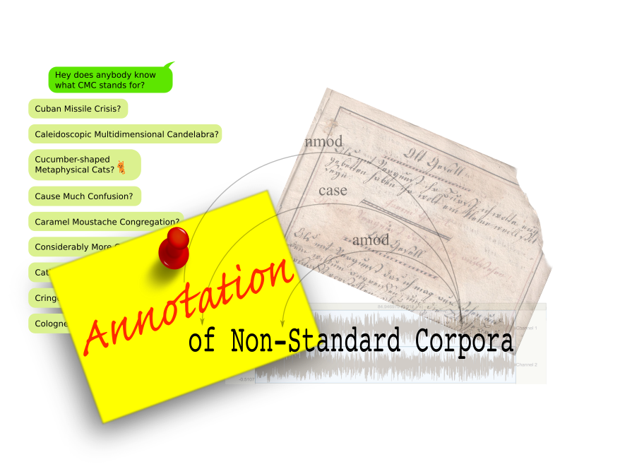 Annotation Of Non Standard Corpora Prospects And Challenges
