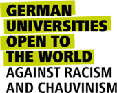 German Universities Open To The World - Against Racism And Chauvinism