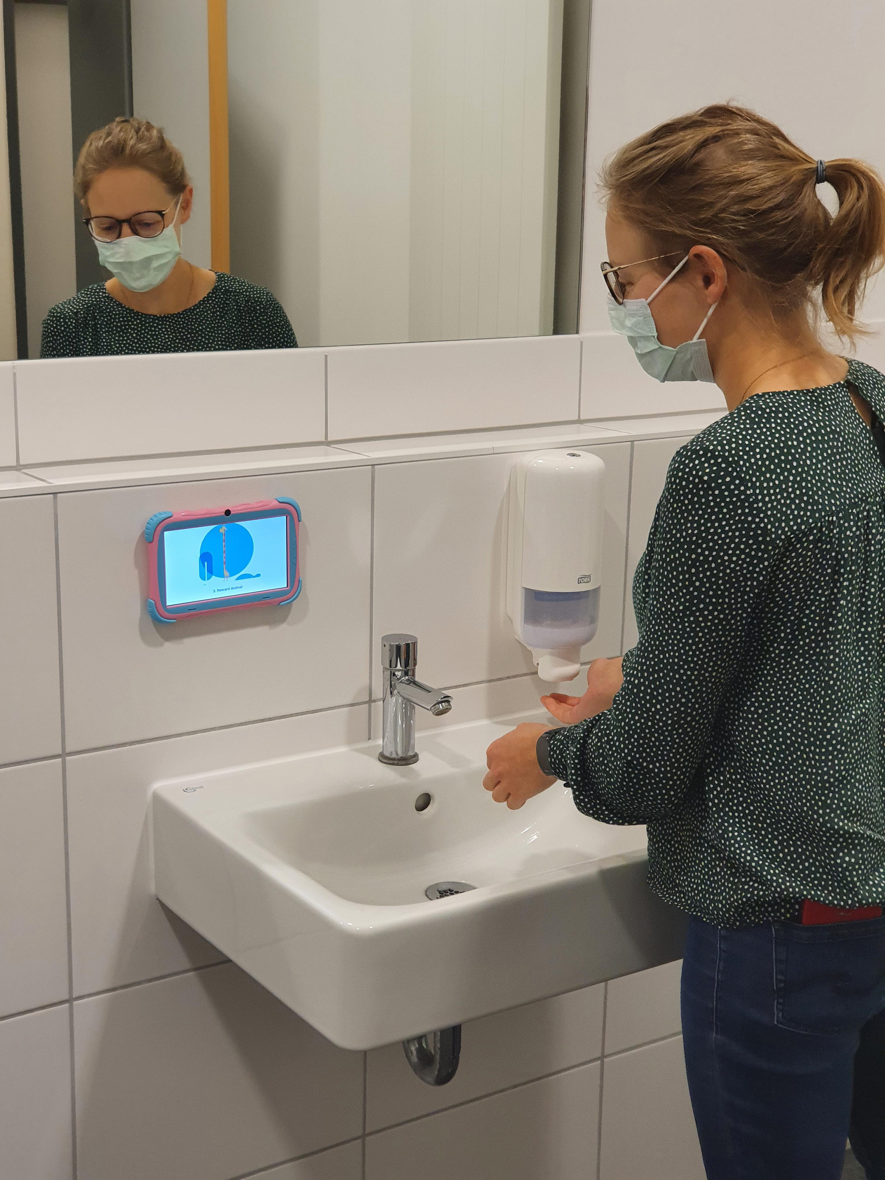 """Bessere Handhygiene durch """"Live Feedback""""   Pressemitteilungen ..."""