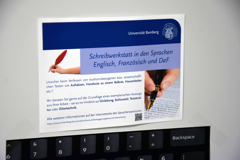 Fremdsprachige Texte Schreiben Otto Friedrich Universität Bamberg