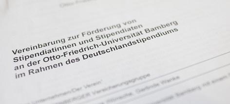 deutschlandstipendien stiften so gehts - Bewerbung Deutschlandstipendium